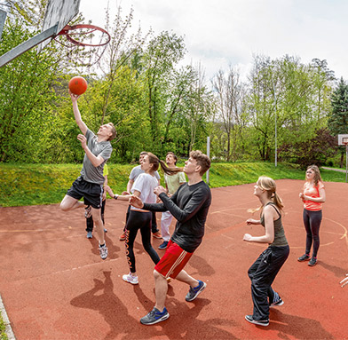 Freizeit - Basketball